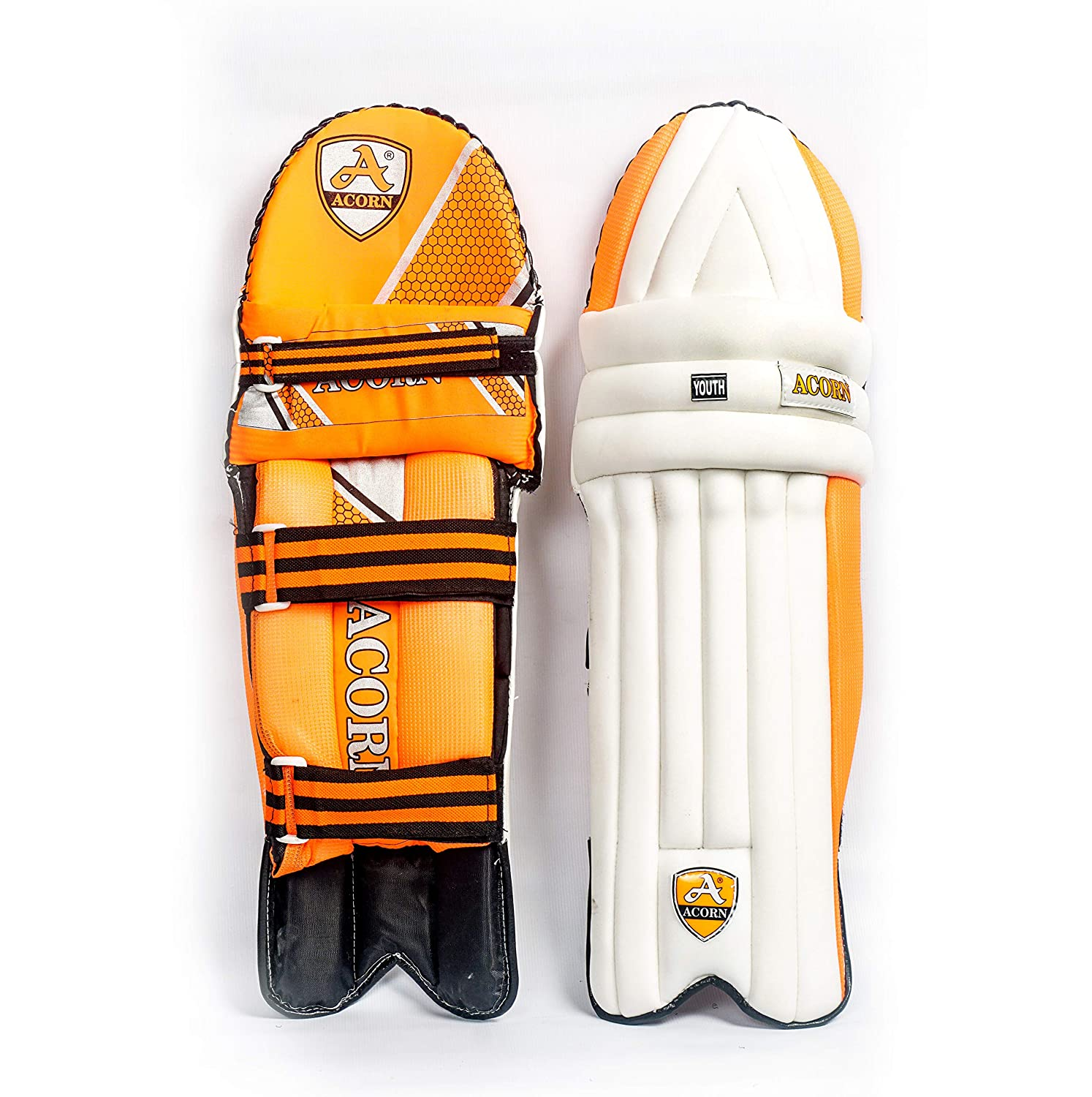 Batting Leg Guard (Youth Size) - Top Quality (Comfortable)