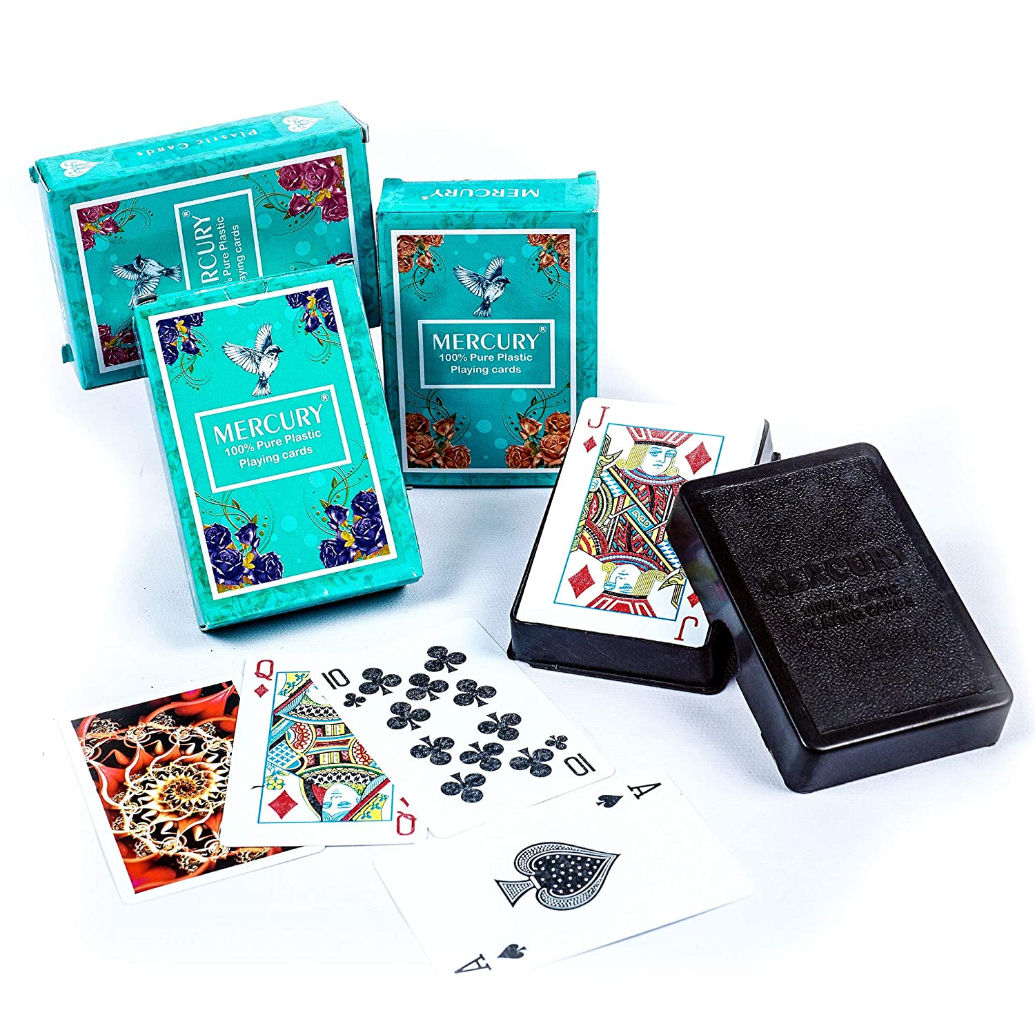 Playing Cards (Pack for 3)