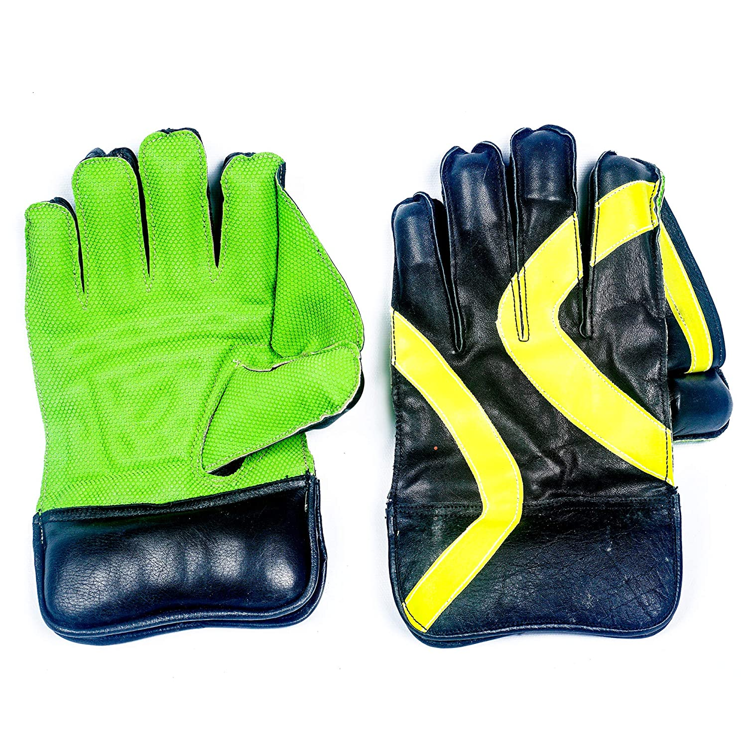 Wicket Keeping Gloves - Green / Black