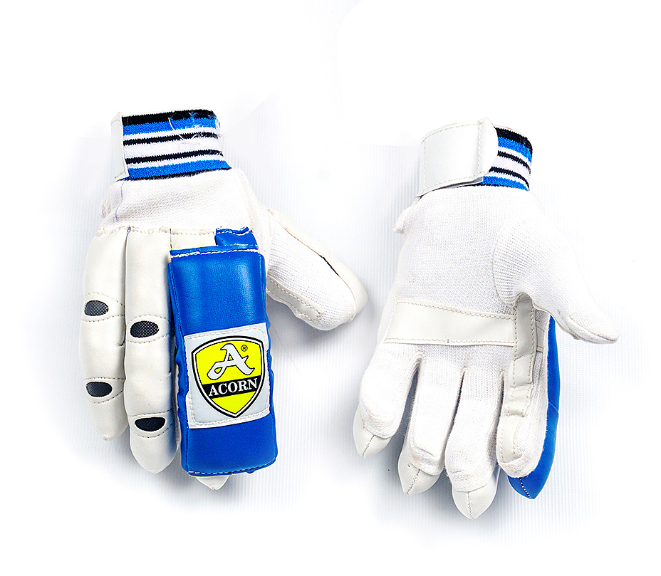 Batting Gloves - Blue / White