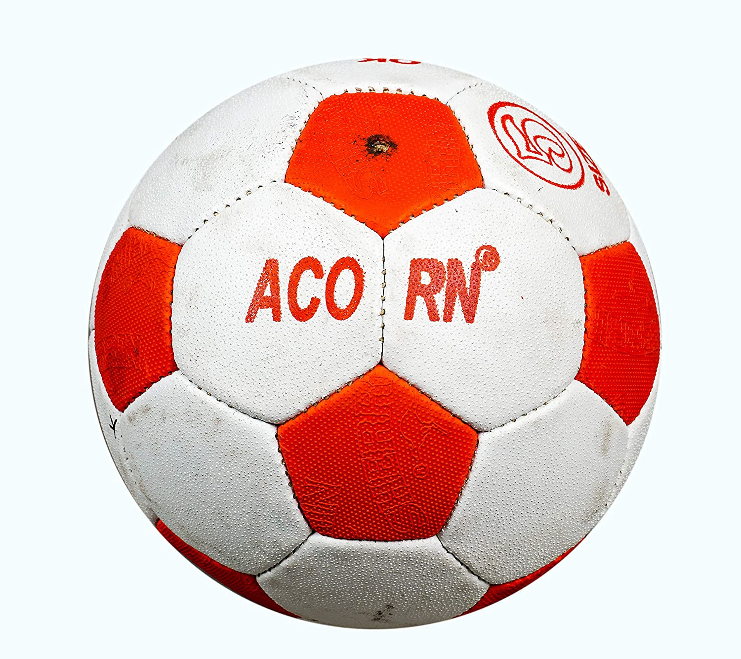 Match Football - Size 5 (White / Red)