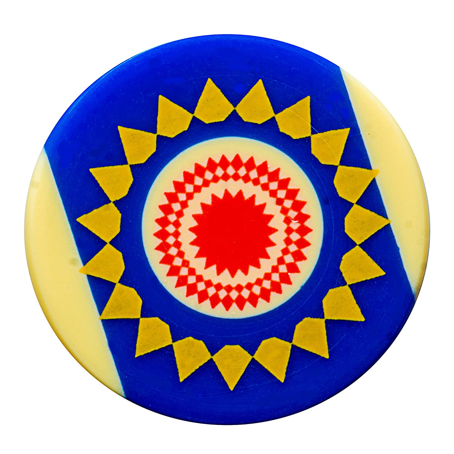 Carrom Striker - Pool (White / Blue)