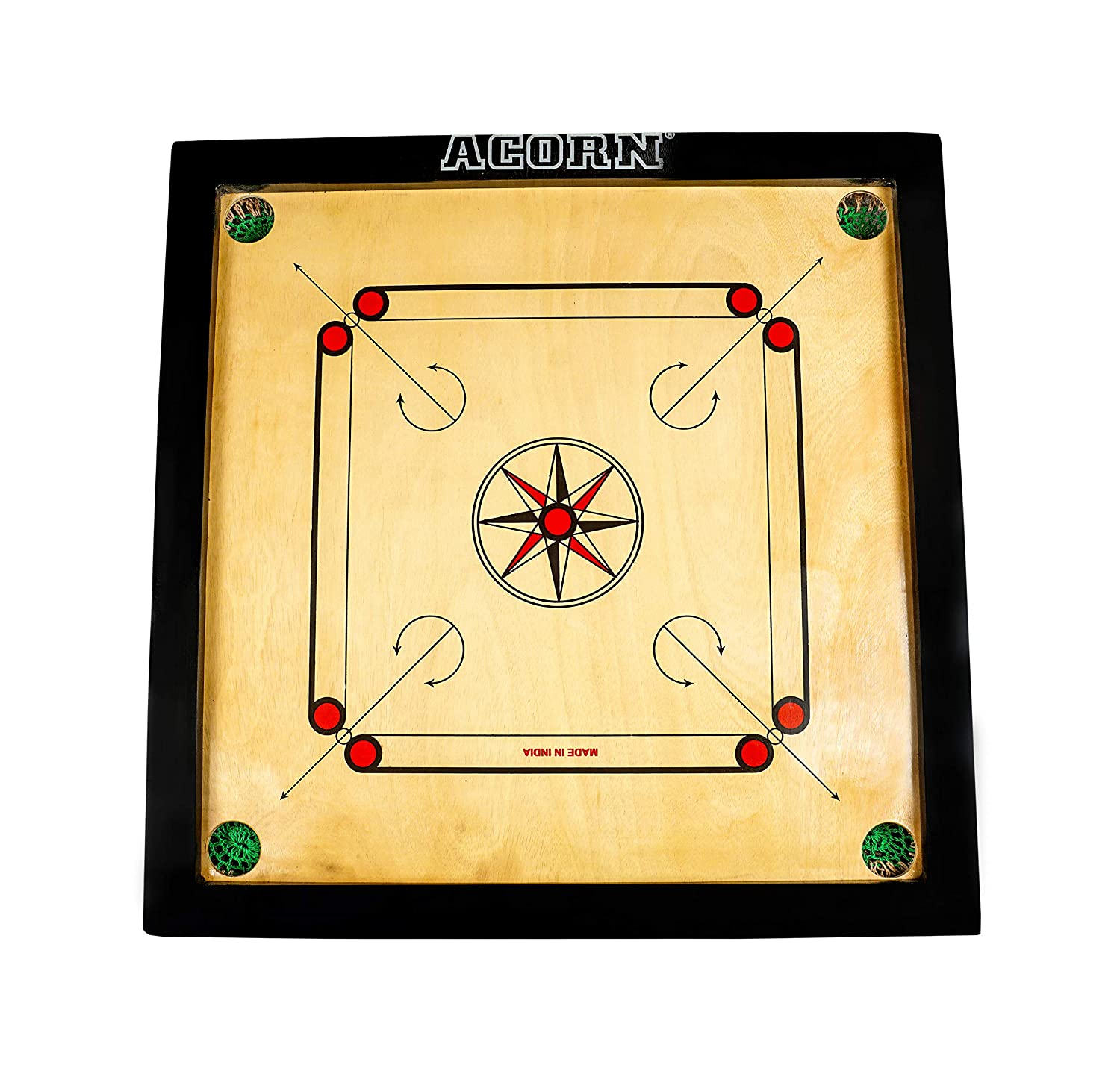 Premium 25X25 Size Carrom Board (Top Quality)