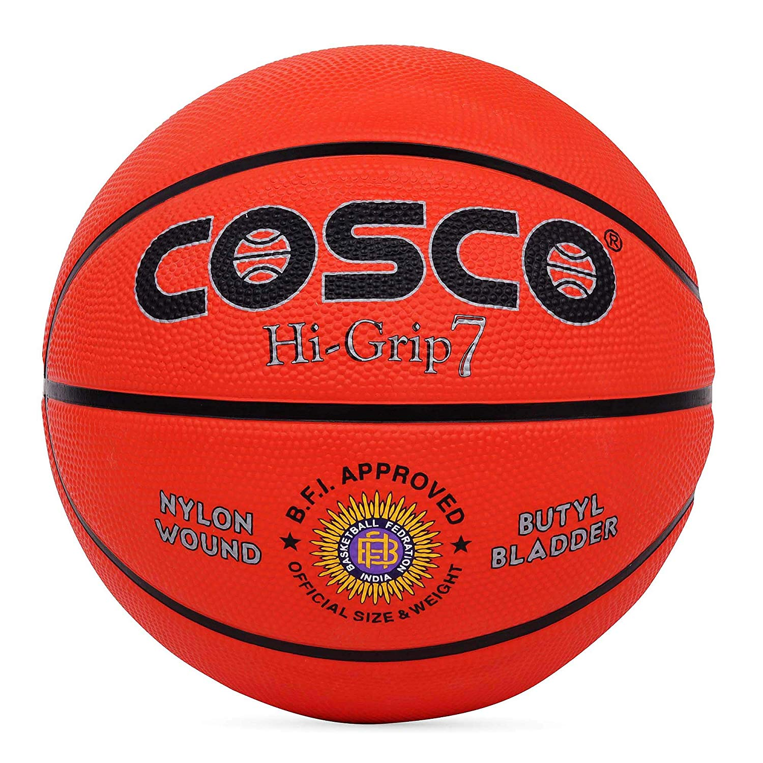 Cosco Hi Grip Basketball - Size 7
