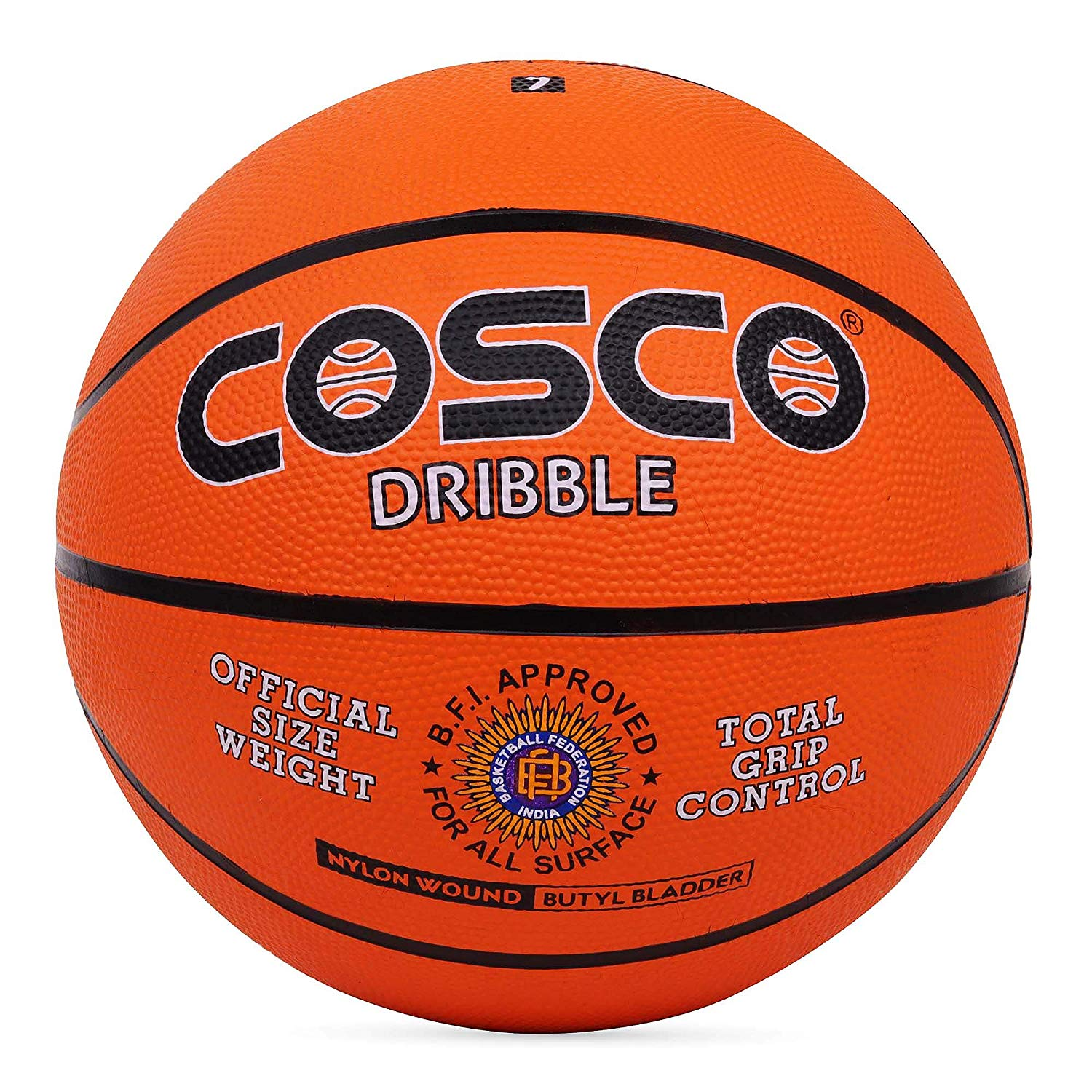 Cosco Dribble Basketball - Size 5