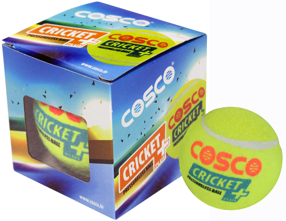 Cosco Cricket + Tennis Balls (Pack for 6)
