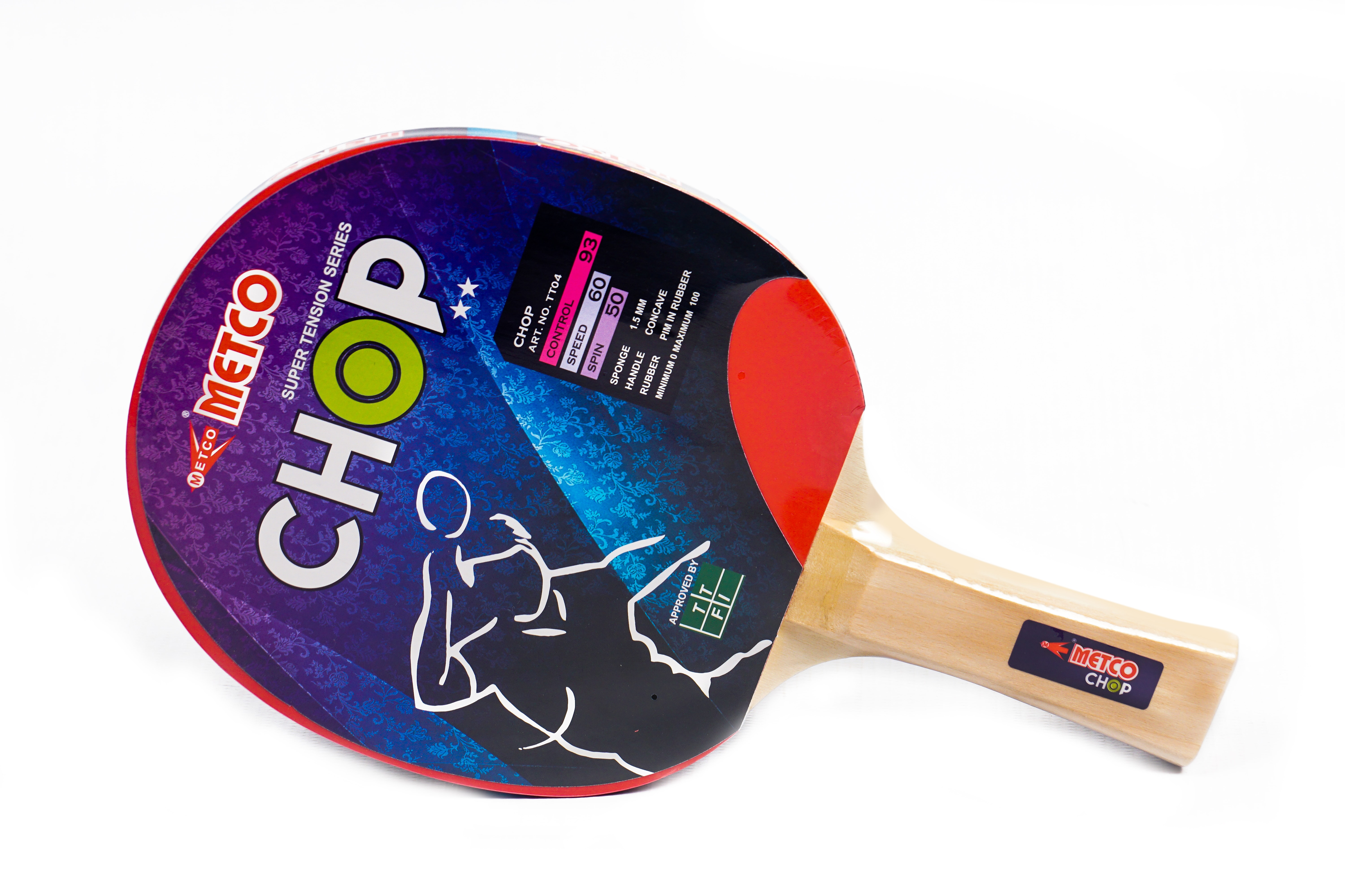 Metco Chop 2 Star Table Tennis Racket