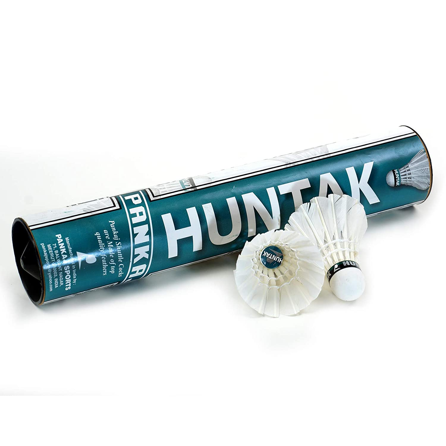 Huntak Badminton Shuttlecock - Feather Quality