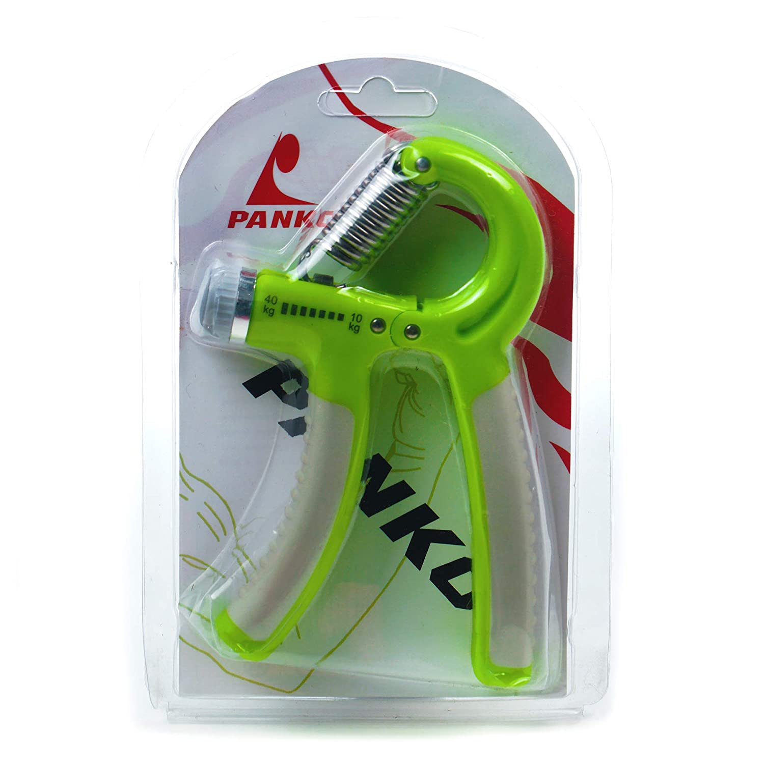Power Grip (Green) - 10 Kg To 40 Kg - Adjustable