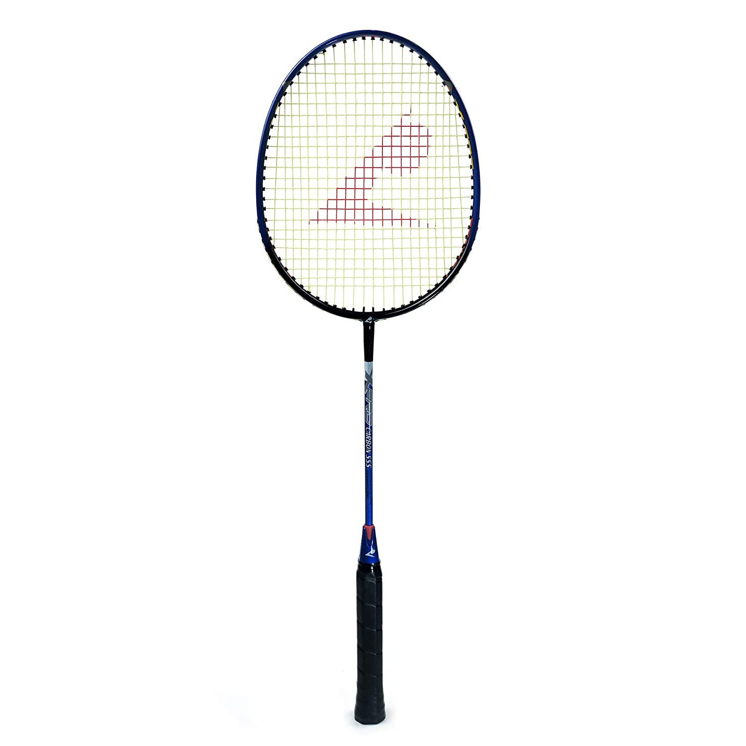 Badminton Racket - Top Quality - Carbon 555 (Blue)