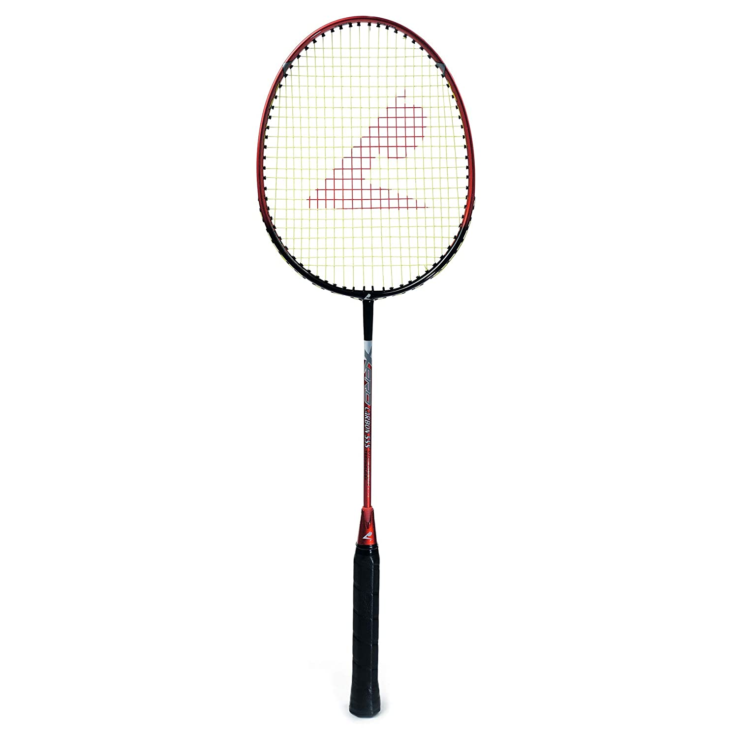 Badminton Racket - Top Quality - Carbon 555 (Red)