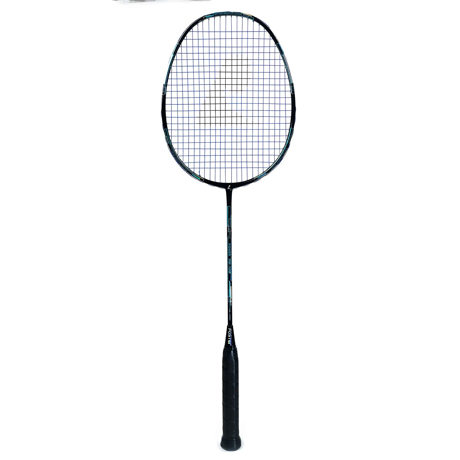 Badminton Racket - High Quality With Assured Card - PS 102 - Foster (Blue)