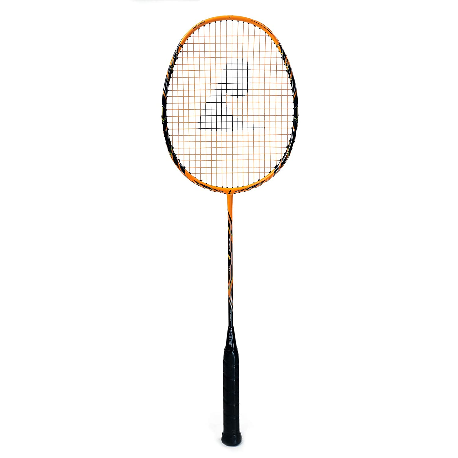 Badminton Racket - High Quality with Assured Card - PS 102 - Foster (Orange)