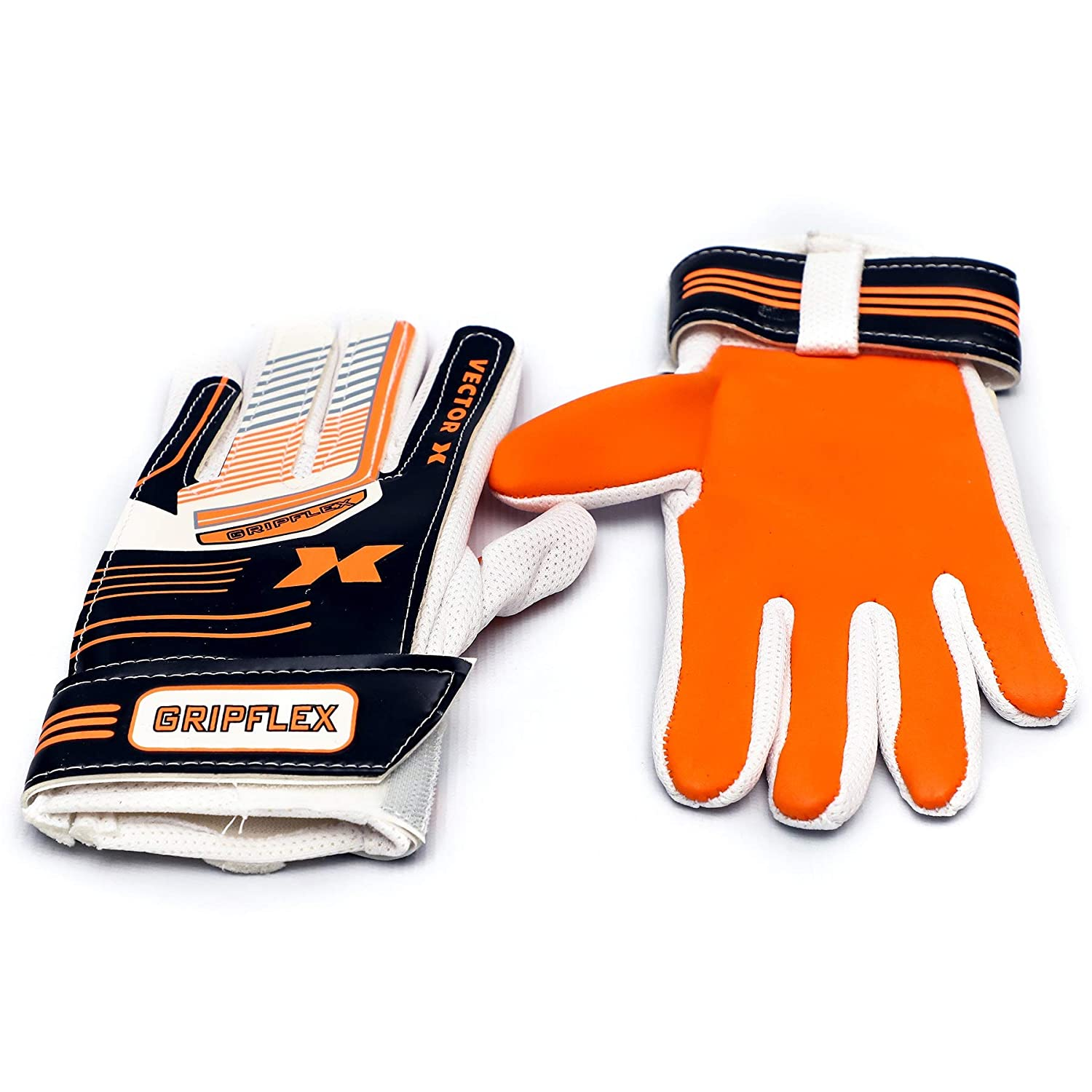 Goal Keeping Gloves (Orange)