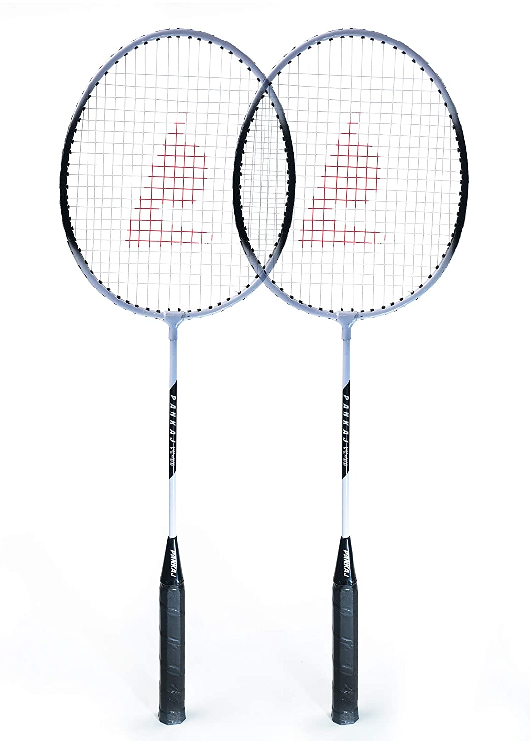 Badminton Racket - PB 55 - Pack for 2 (Black)