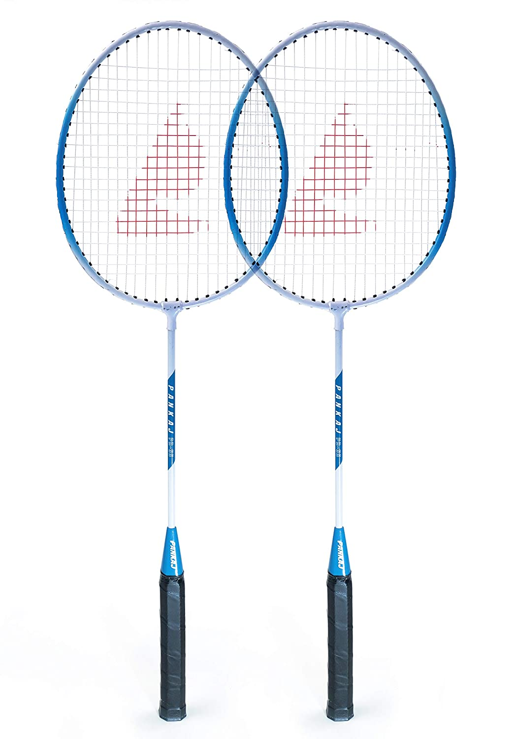 Badminton Racket - PB 55 - Pack for 2 (Blue)