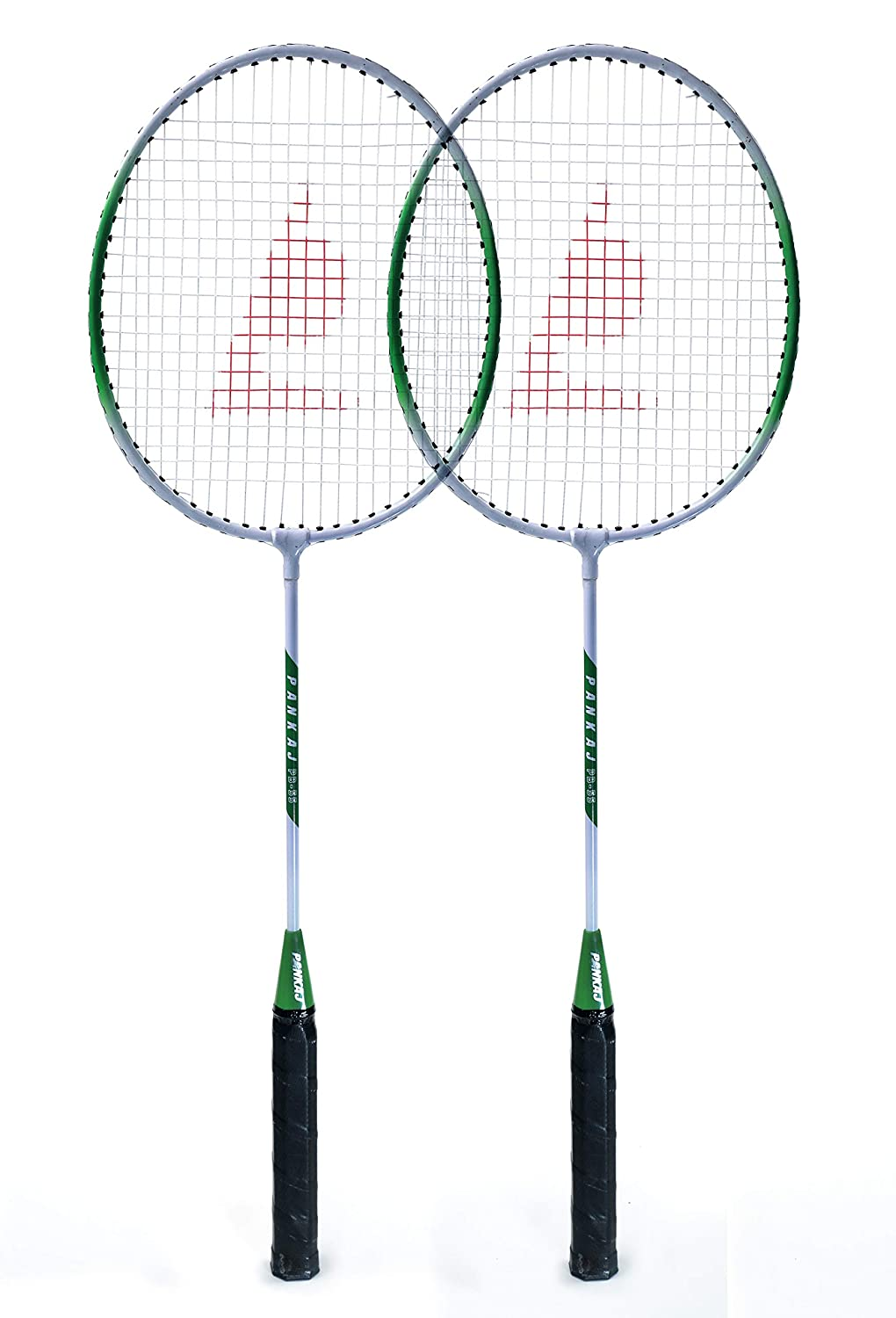 Badminton Racket - PB 55 - Pack for 2 (Green)