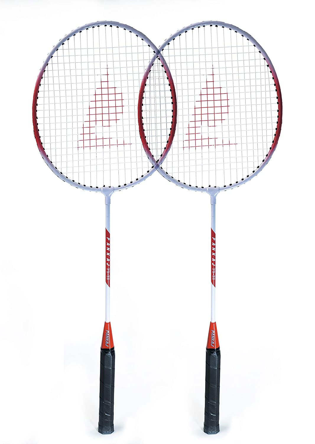 Badminton Racket - PB 55 - Pack for 2 - (Red)