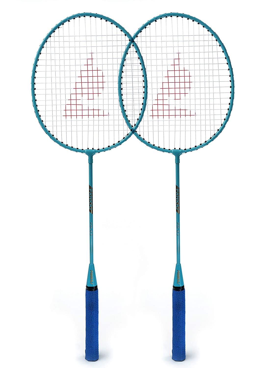 Badminton Racket - PB 65 - Pack for 2 - (Blue)