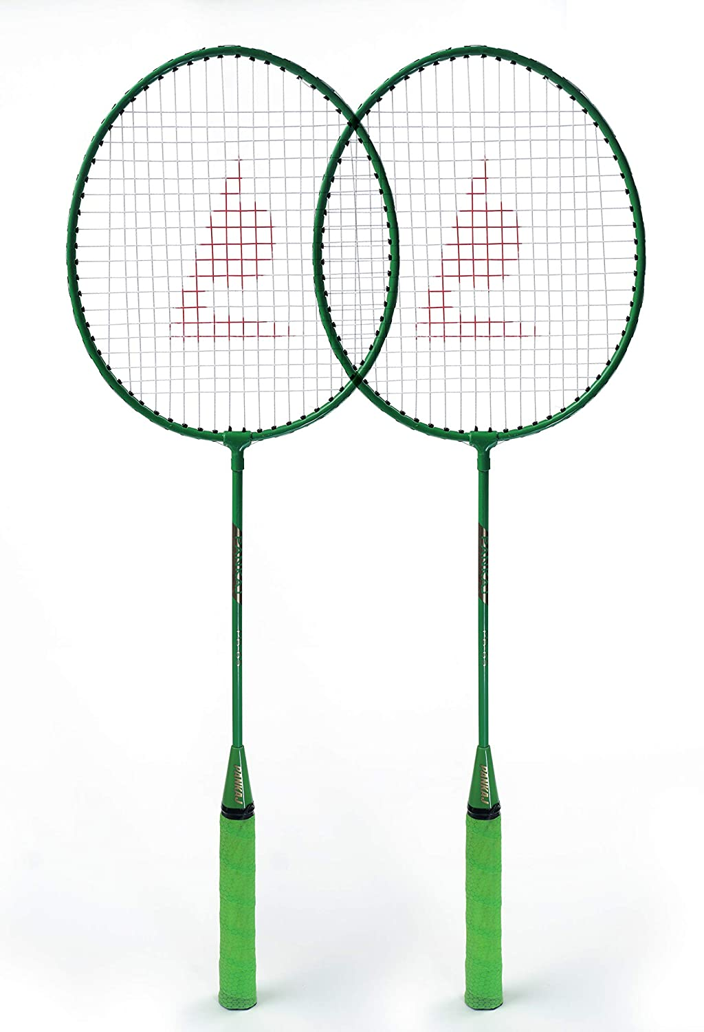 Badminton Racket - PB 65 - Pack for 2 (Green)