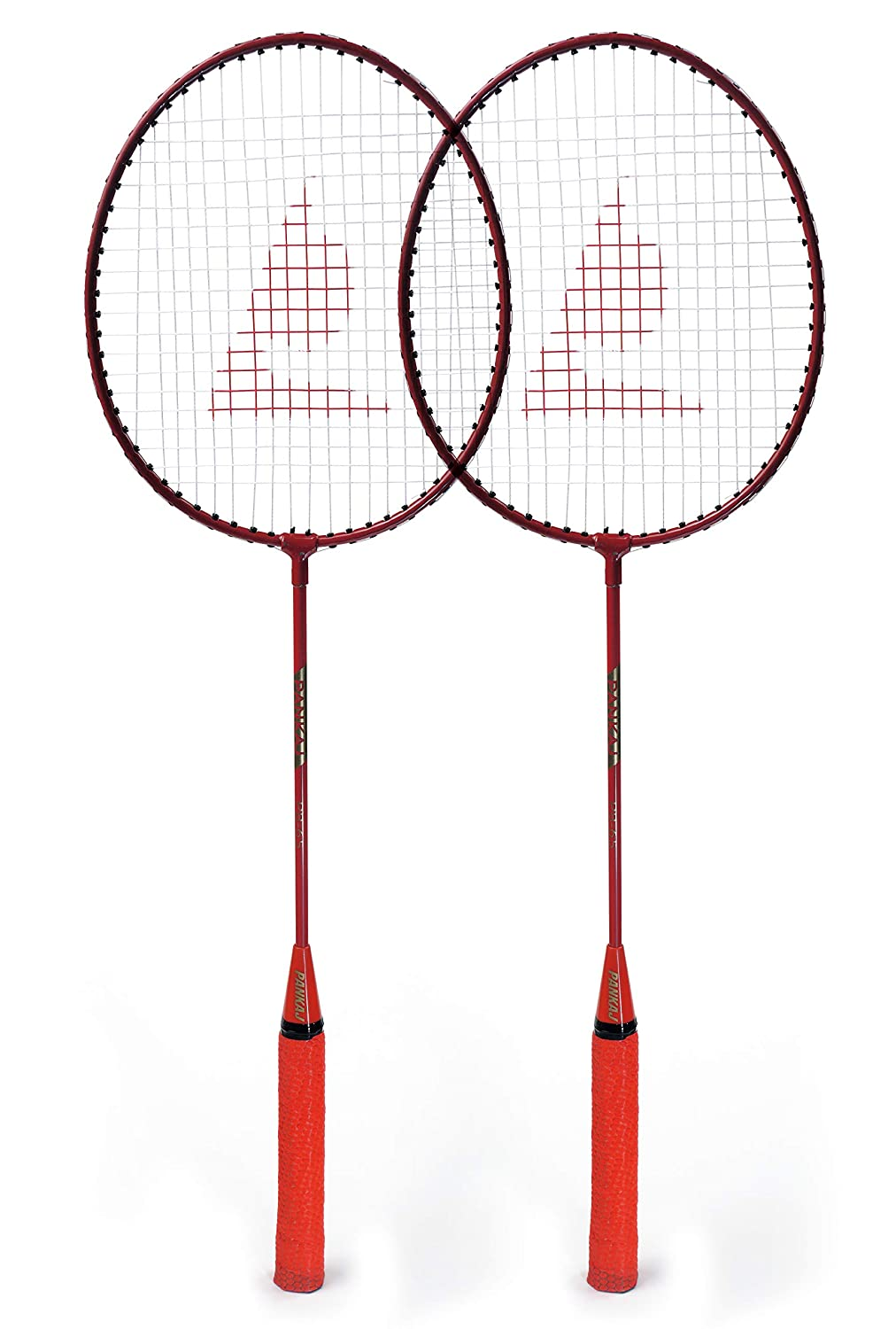 Badminton Racket - PB 65 - Pack for 2 (Red)
