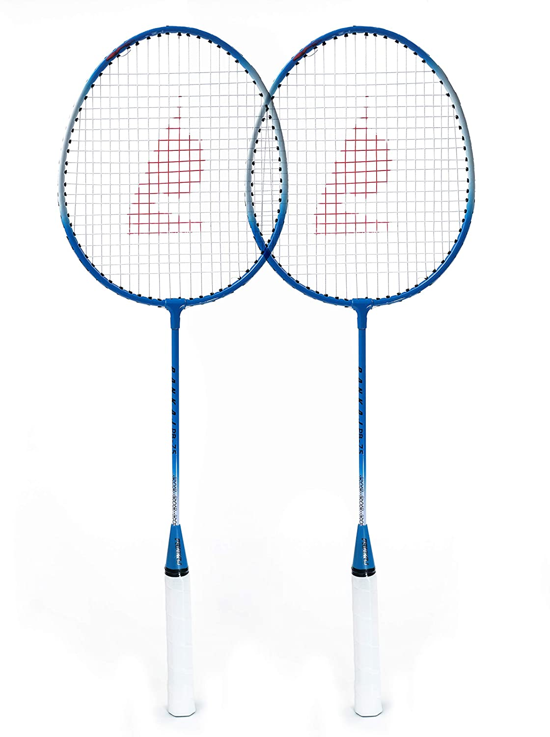 Badminton Racket - PB 75 - Pack for 2 (Blue)