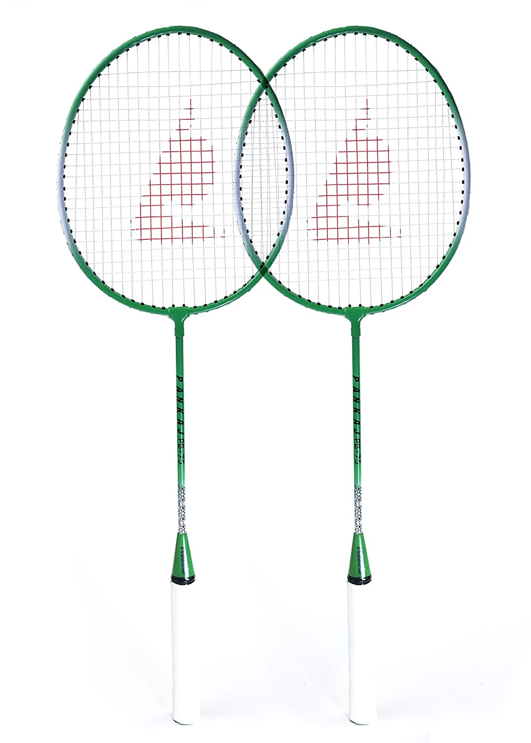 Badminton Racket - PB 75 - Pack for 2 (Green)