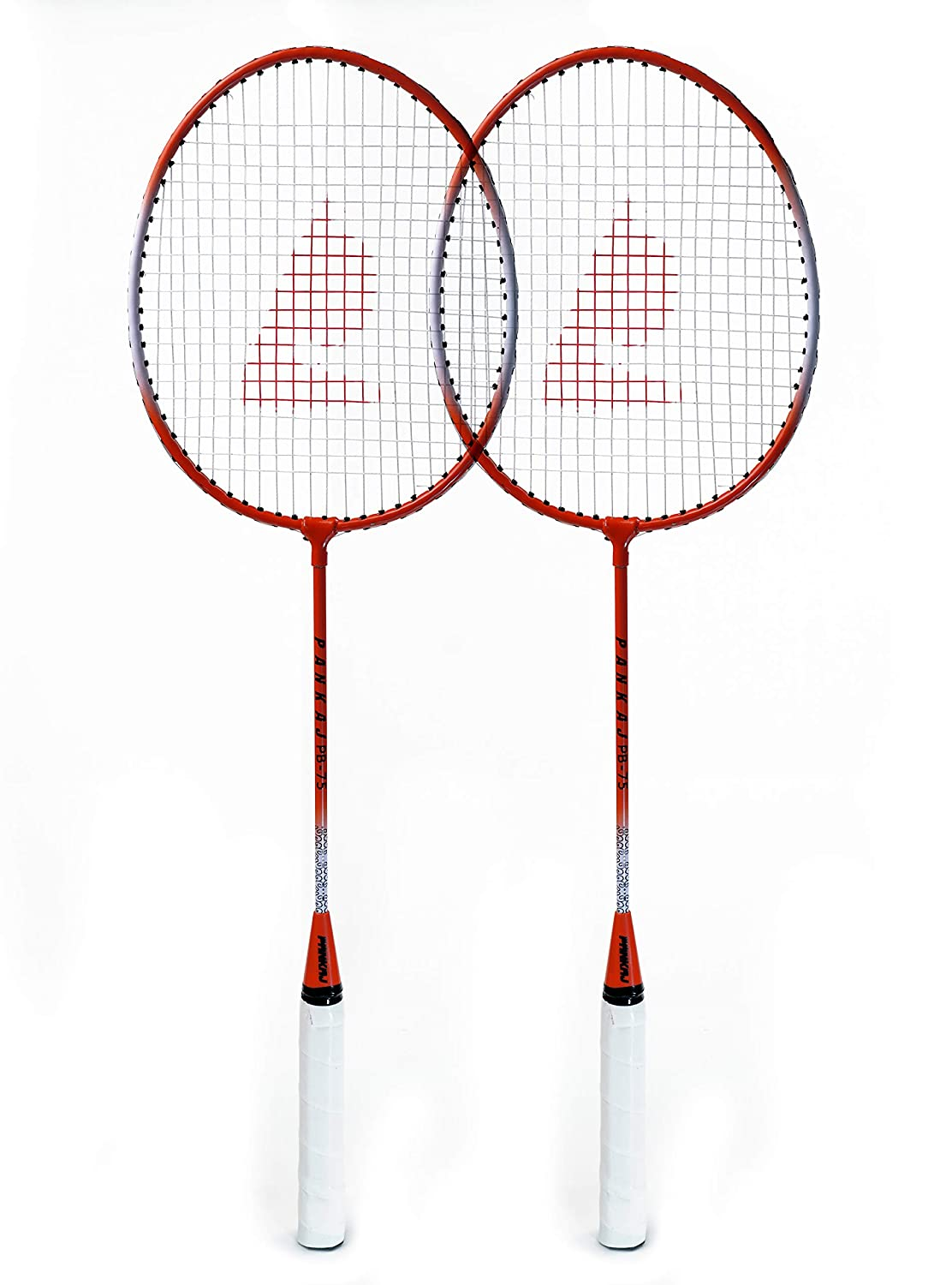 Badminton Racket - PB 75 - Pack for 2 (Red)