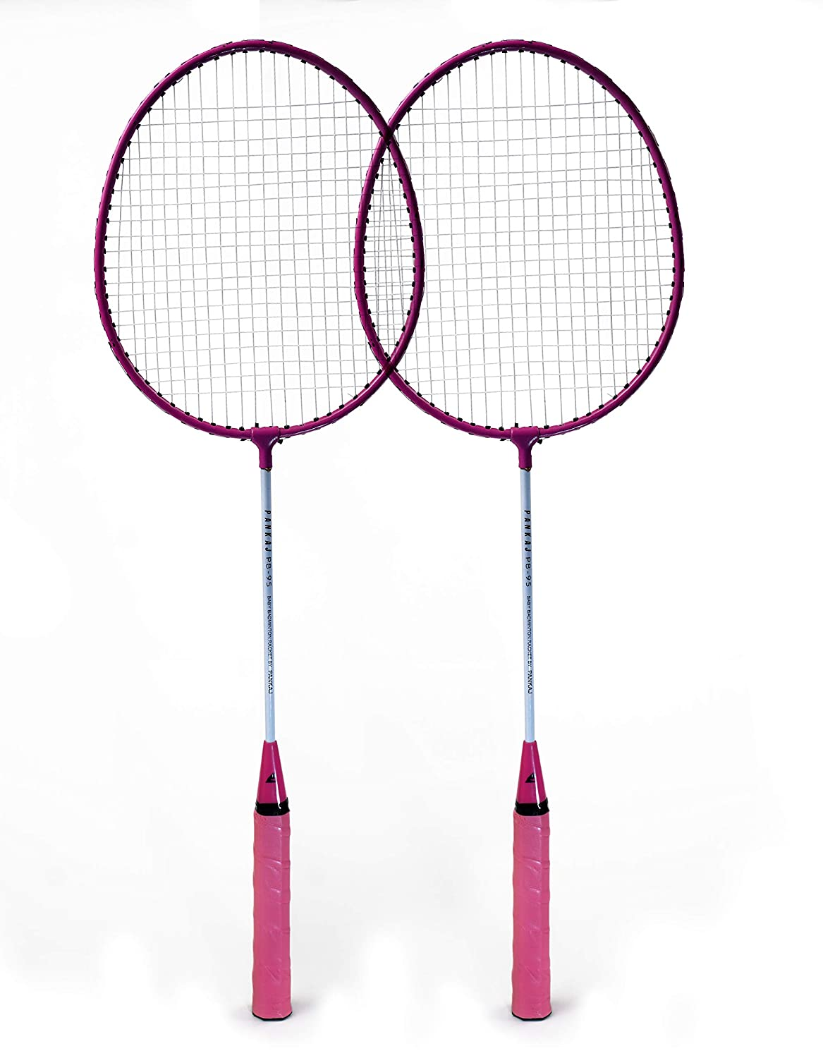 Badminton Racket - PB 95 - Pack for 2 (Pink)