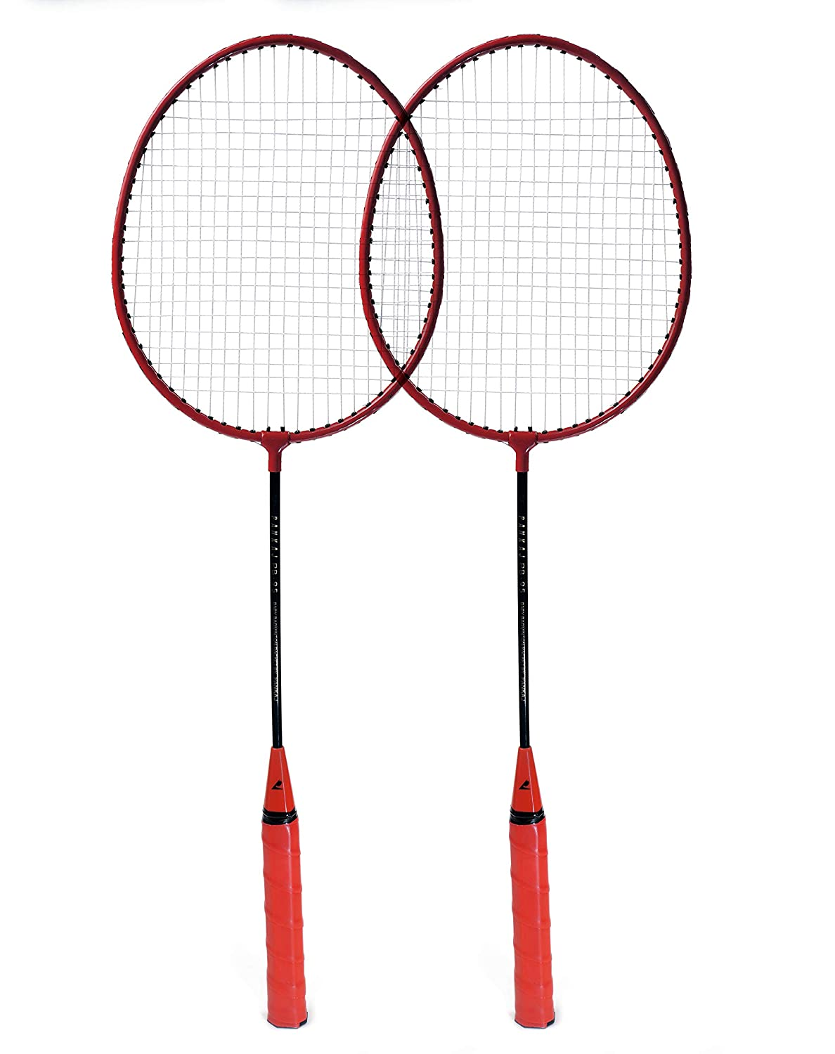 Badminton Racket - PB 95 - Pack for 2 (Red)