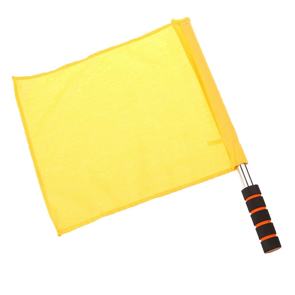 Refree Flag - Diamond 70 cm (Yellow)