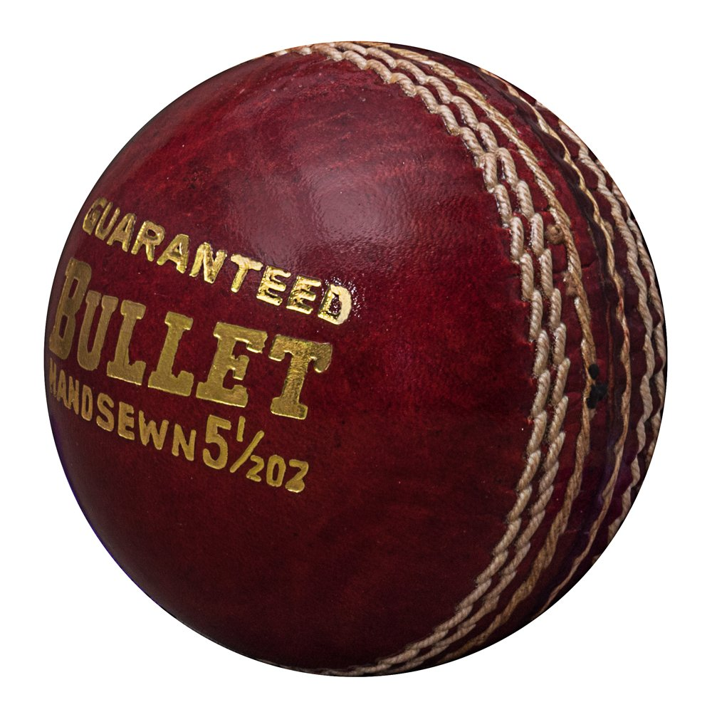 Acorn Leather Red Bullet Cricket Ball