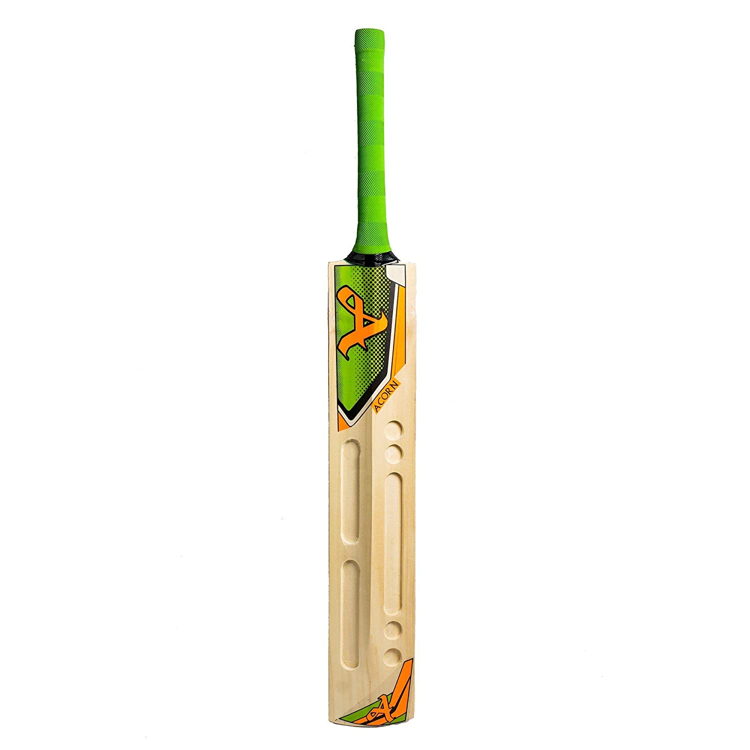 Acorn Kashmir Willow Cricket Bat (Green)