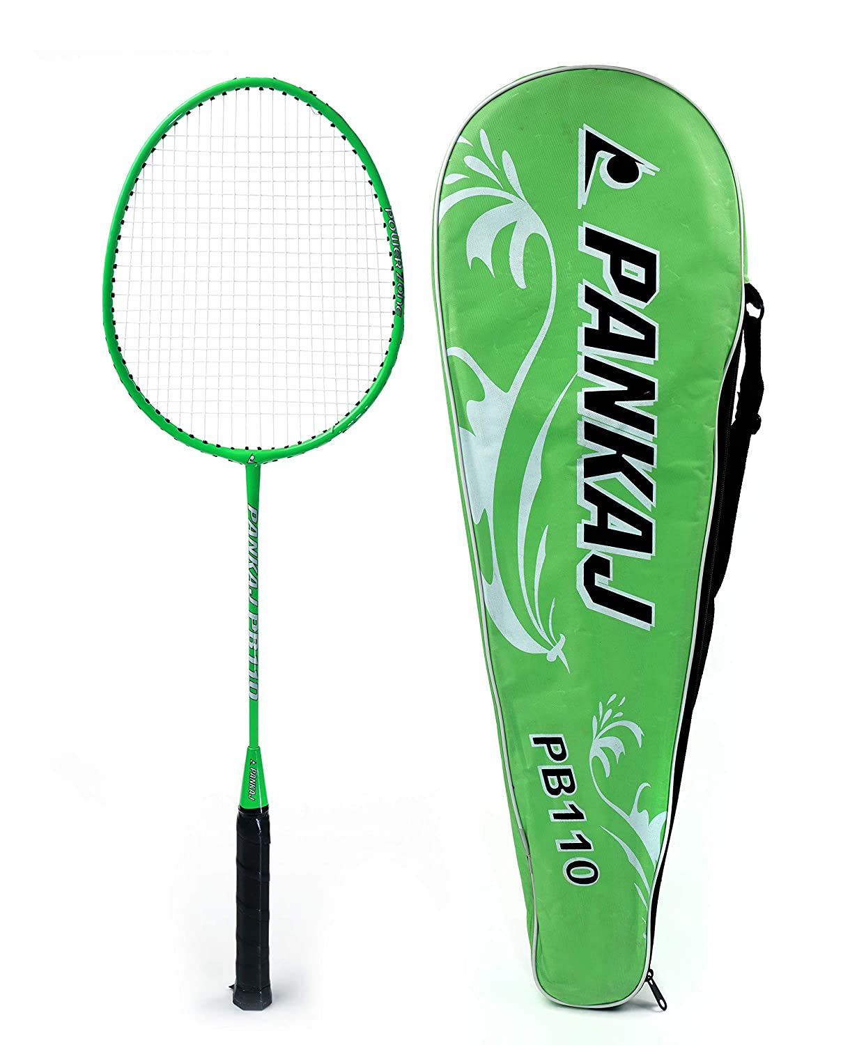 Badminton Rackets - PB 110 - Pack for 2 (Green)