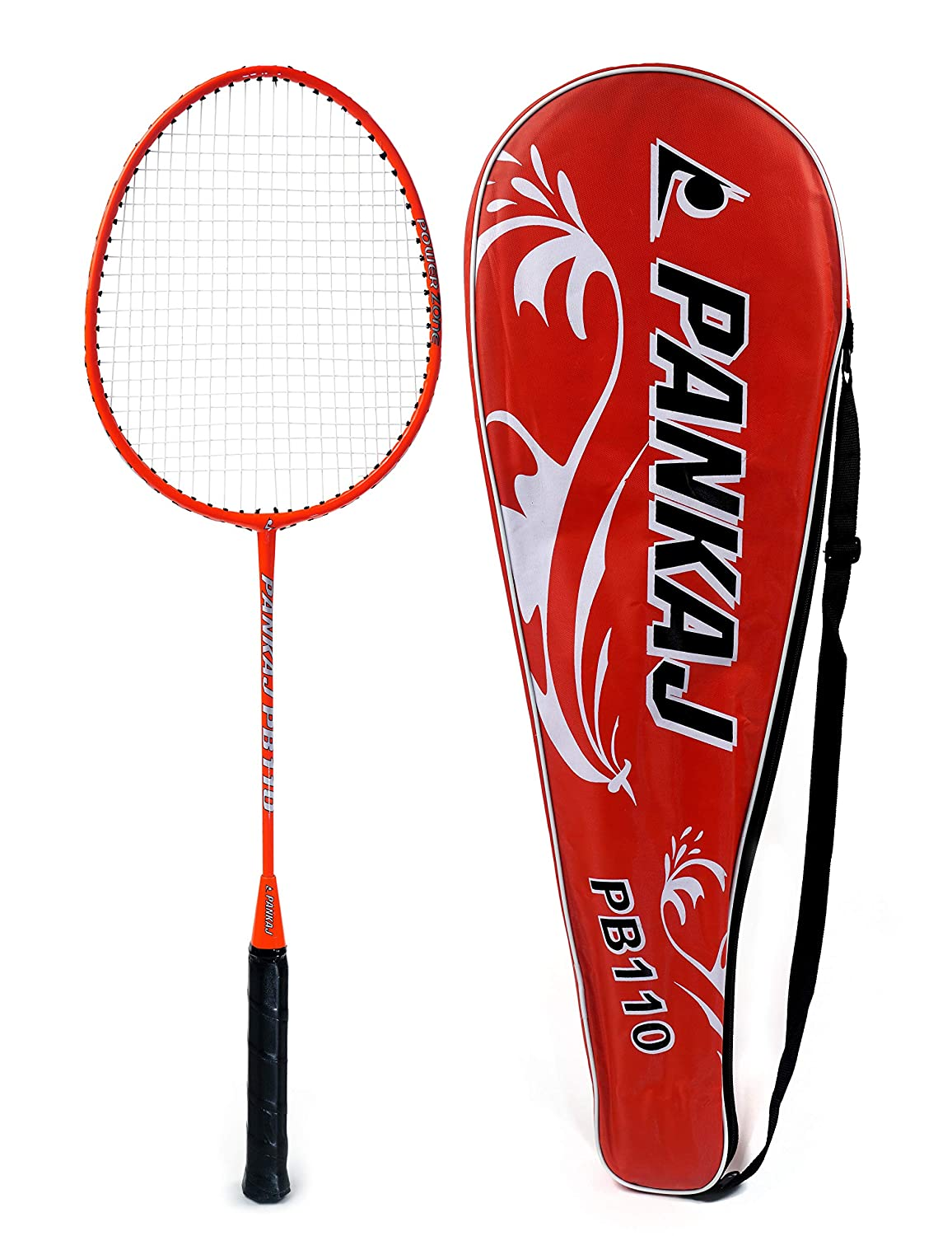 Badminton Rackets - PB 110 - Pack for 2 (Red)