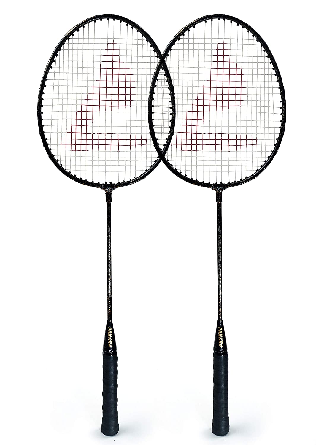 Badminton Rackets - PB 60 - Pack for 2 (Black)