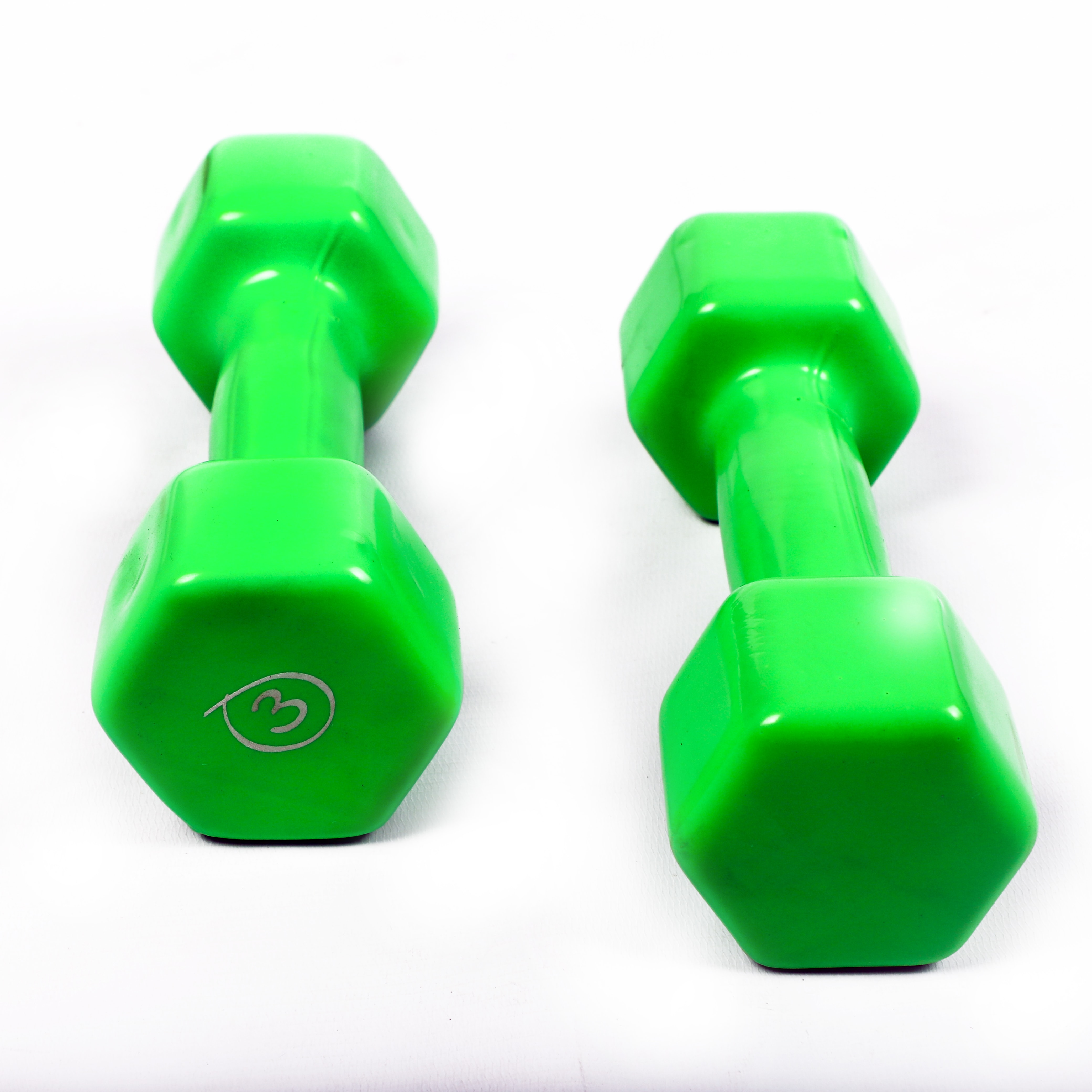 Plastic Coated Dumbell