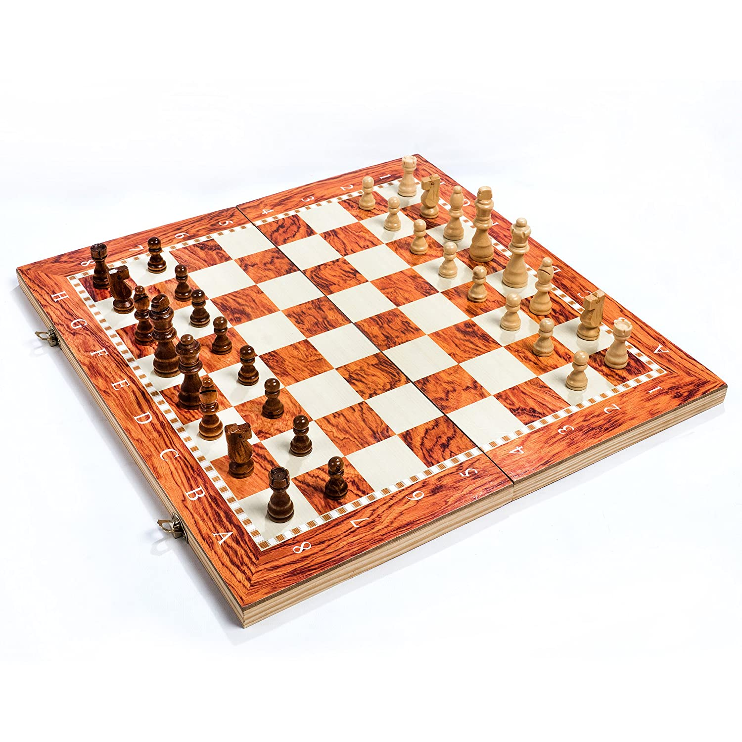 Wooden Chess Board - Best Quality ( Reasonable Rate ) ( 20X20 Inches Size )