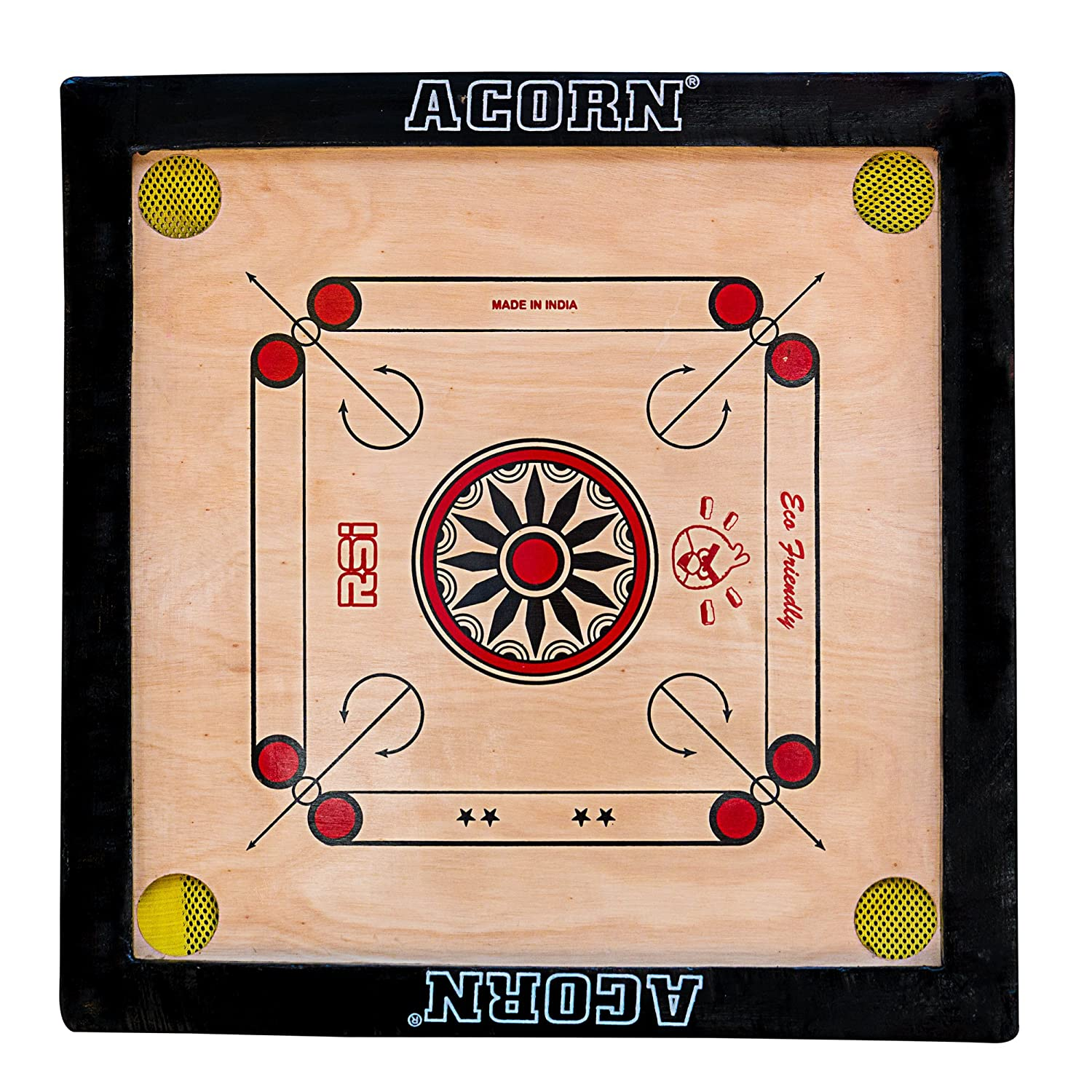 Wooden Carrom Board 18 x 18 Inch